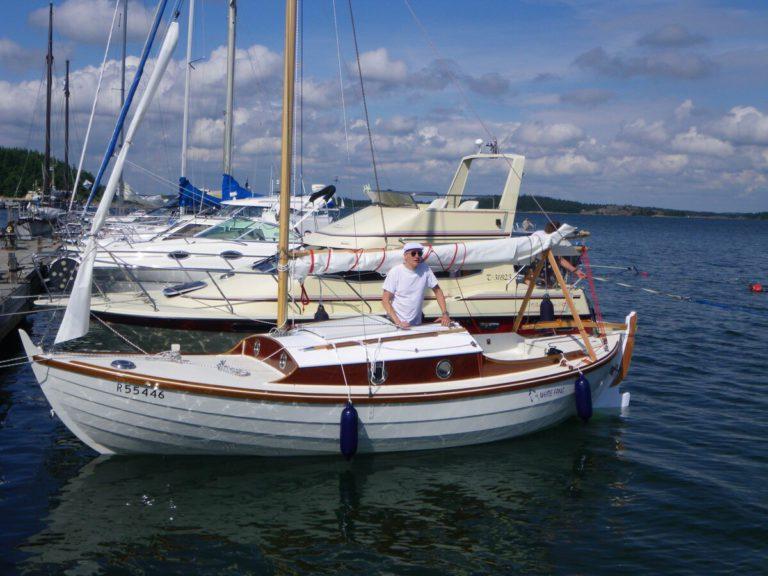 Win een zeilende roeiboot tijdens het Dutch WoodenBoat Festival