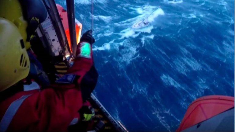Kustwacht redt bemanning Loa Zour