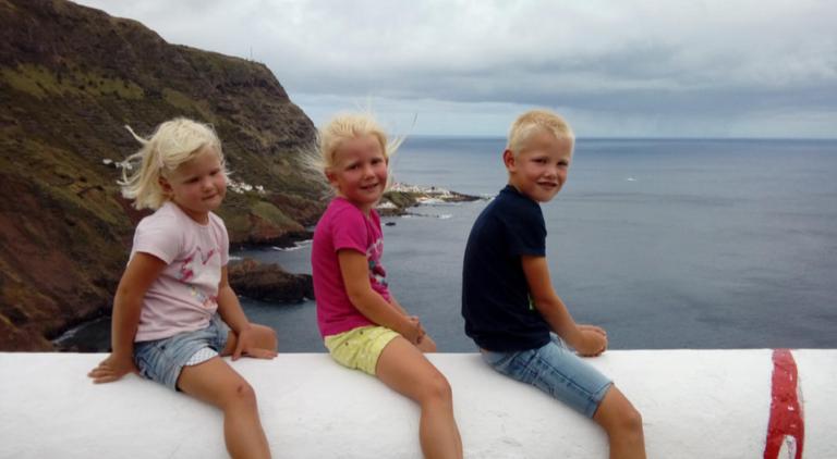 Rondje Oost-Atlantic met kinderen: de warmte en de zon achterna