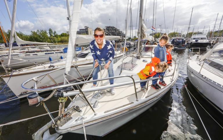 Varen met kinderen: de drie leukste vaarplekjes in Noord-Holland