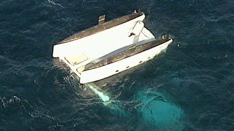 Drie doden bij omslaan catamaran Australië