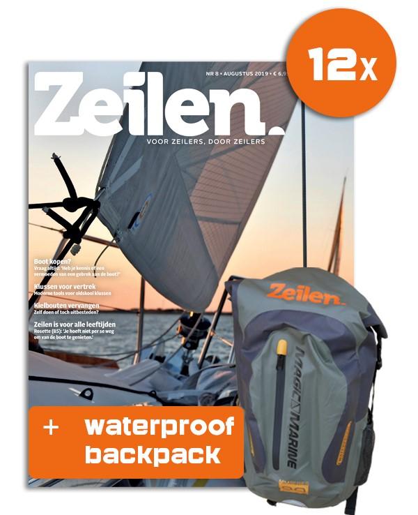 12x Zeilen + Digitaal lezen en Waterproof Backpack