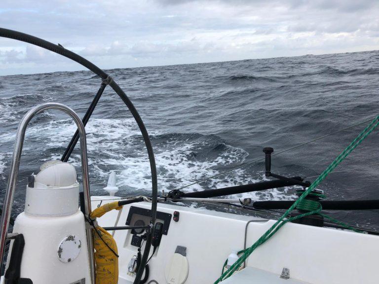 Fastnet Race: 'de hekstoel is uit het dek gerukt'