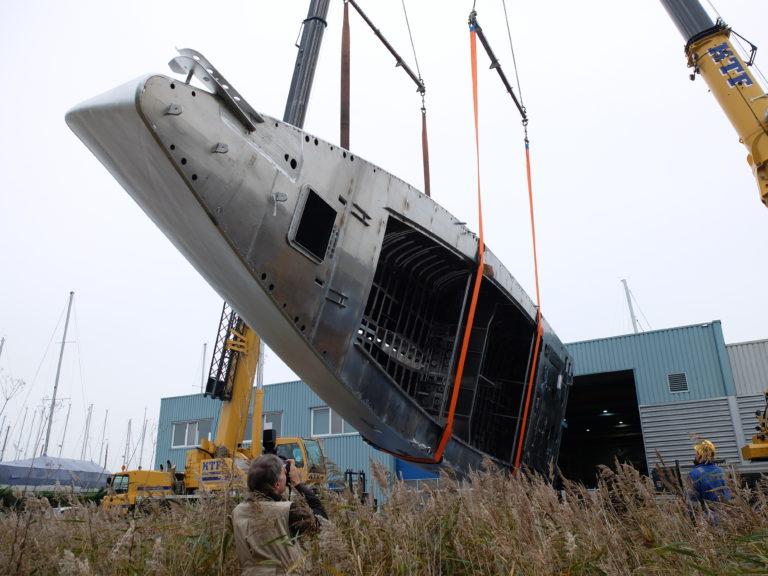 Nieuwe fase in bouw 77-voeter Pelagic in Makkum