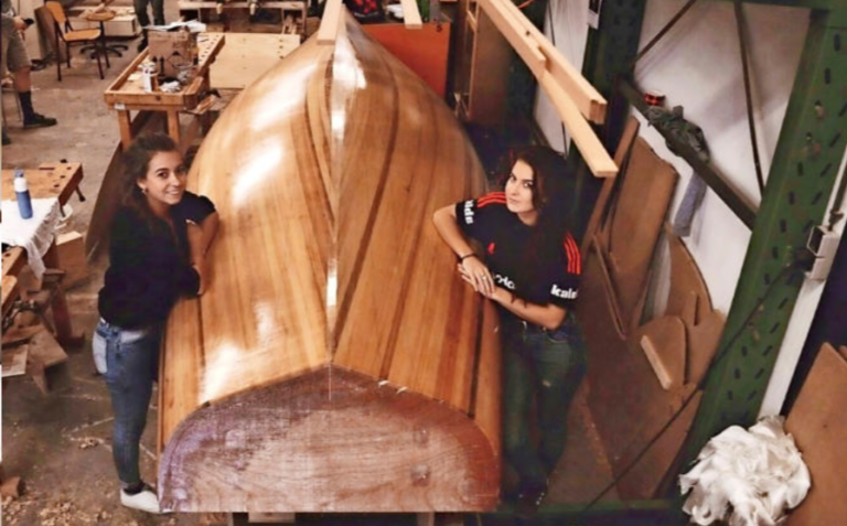 Nu in Zeilen: Zelfbouwboot