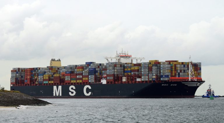Containerschip MSC Zoe verloor tot twee keer toe lading