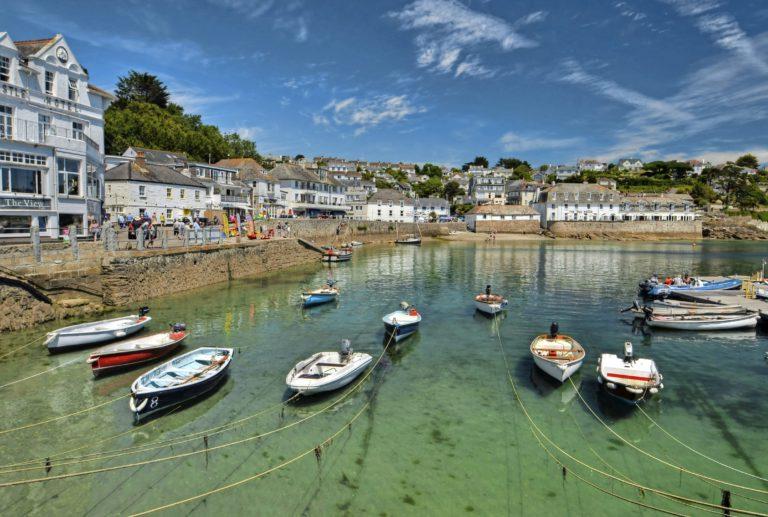 Cornwall:Tropisch dichtbij