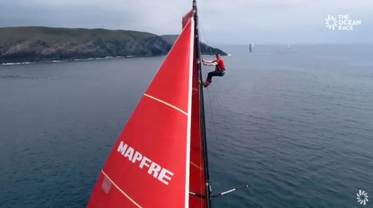 Zien: Prachtige drone-opnames van The Ocean Race