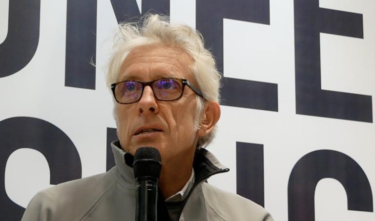 America's Cup-ontwerper Martin Fisher: 'dat kan ik niet vertellen'