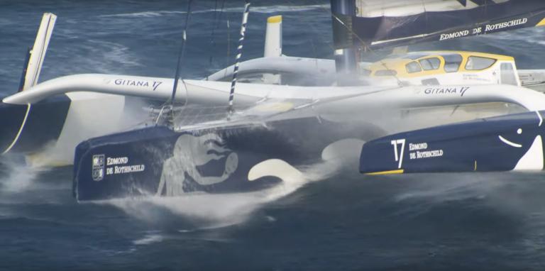 Jules Verne Trophy: Gitana Team op schema in de roaring forties