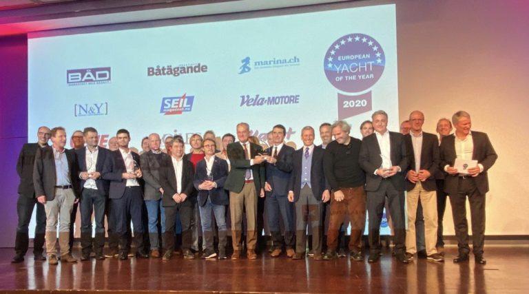 Dit zijn de winnaars van de European Yacht of the Year 2020