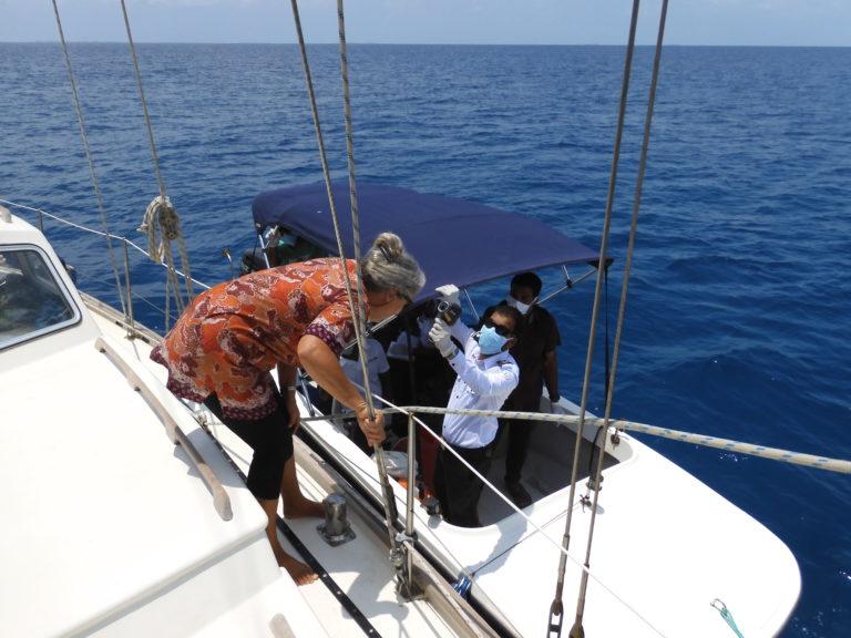 Corona: grimmige omstandigheden op de Indische Oceaan