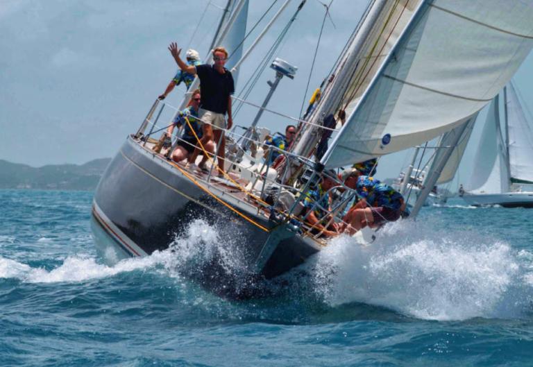 Nu in Zeilen: 'Op mijn eigen boot ben ik vrij onverschrokken'