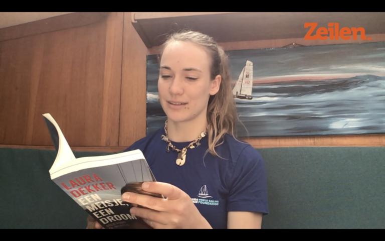Video's: Laura Dekker, Werner Toonk en andere zeilauteurs lezen voor