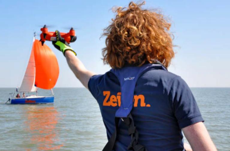 Nu in Zeilen: Je eigen boot vanuit de lucht