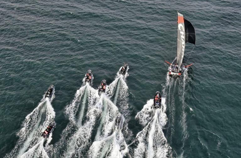 Beyou wint de allereerste Vendée-Arctique-Les Sables d'Olonne Race