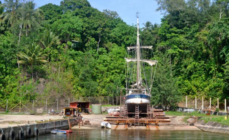 Nu in Zeilen: Aanvaring op de Salomonseilanden