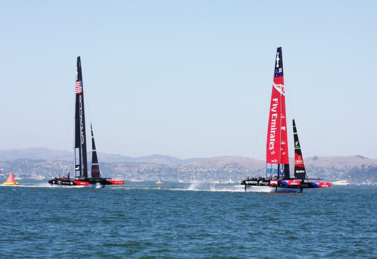Te koop: America's Cup-boot van Oracle Team USA