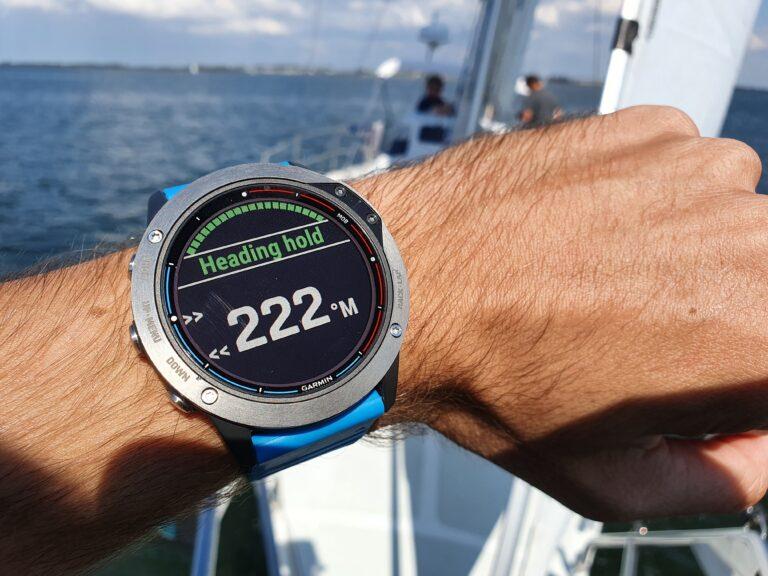 Smartwatch voor zeilers: Garmin Quatix 6 altijd binnen handbereik