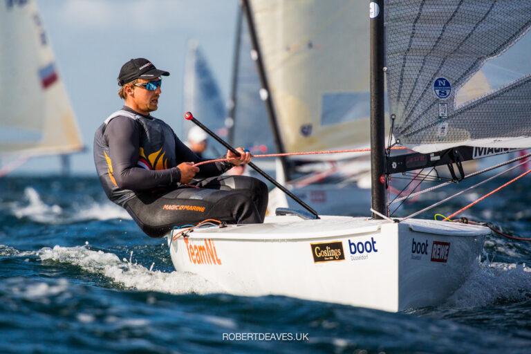 Kieler Woche: Heiner eerste in Finn, Bouwmeester tweede in Laser Radial