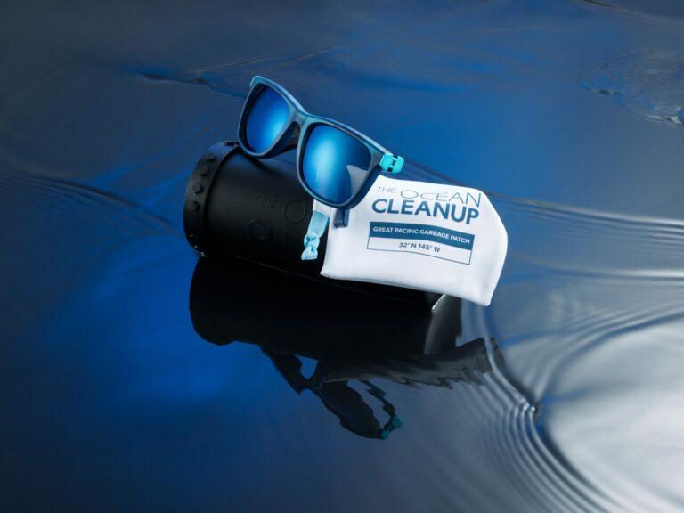 Nu te koop: zonnebril gemaakt van plastic afval uit de Grote Oceaan