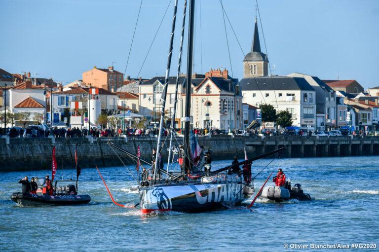 Vendée Globe video update: Charal hervat race