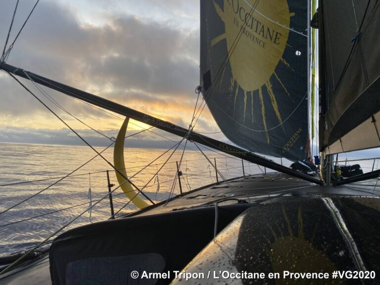 Tripon maakt een inhaalslag in de Vendée Globe (video-update)