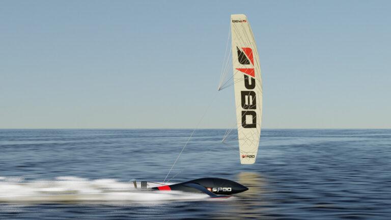 SP80 en Syroco racen naar het wereld-snelheidsrecord