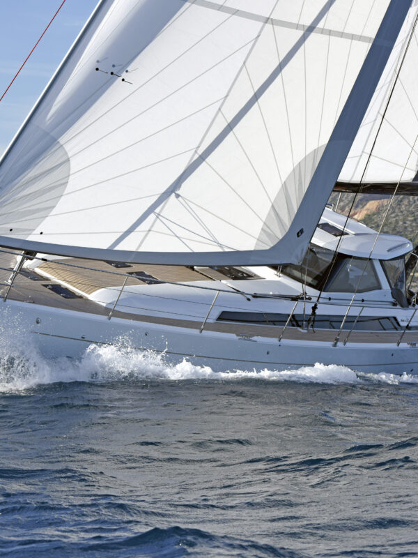 European Yacht of the Year 2019 Barcelona Trials 16 October 2019  Amel 60