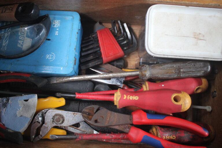 Dossier vertrekken: Welk gereedschap neem je mee?