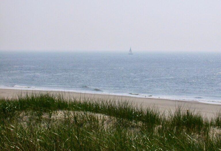 Plastic boei neemt houten prik over op de Waddenzee