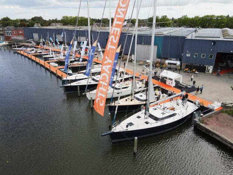 Nederlandse jachtbouw pakt uit op zomers Dutch Yachting Weekend
