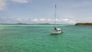Yndeleau na orkaan weer terug bij Tobago Cays