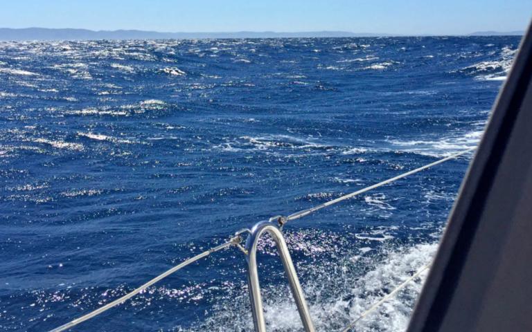 Nu in Zeilen: Mijn eerste keer op zee