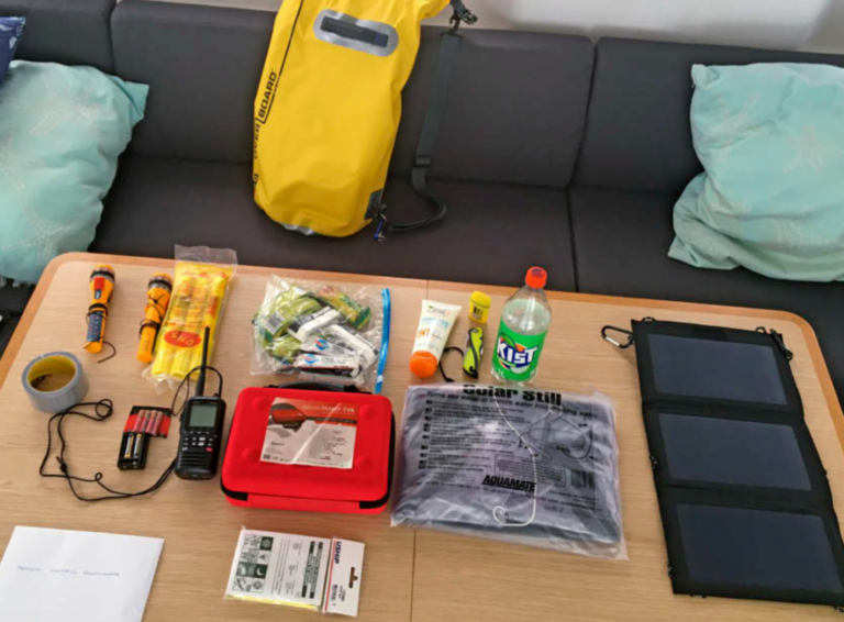 Nu in Zeilen: Grab bag voor noodgevallen