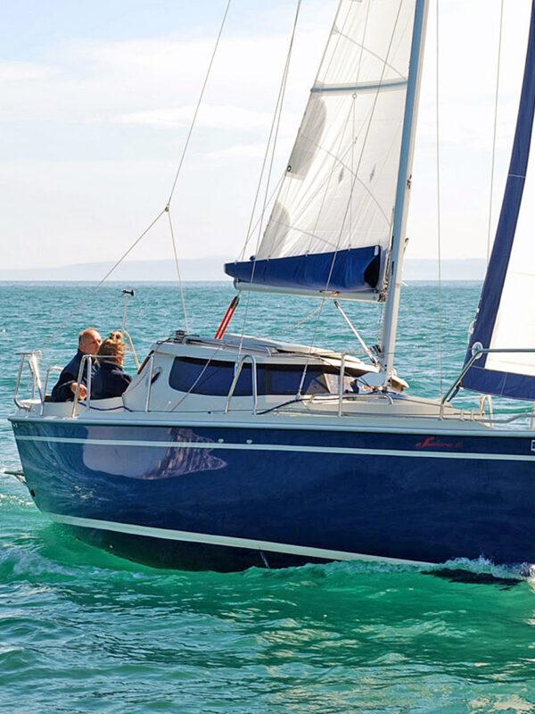 Sunhorse 25 sailing 4